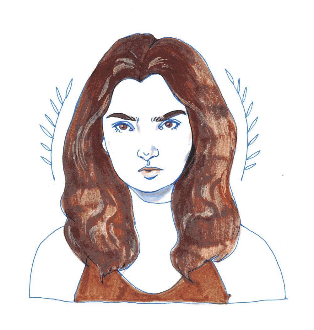 Emily Robinson   By SPECIWOMEN  Illustration  SENDRA UEBELE