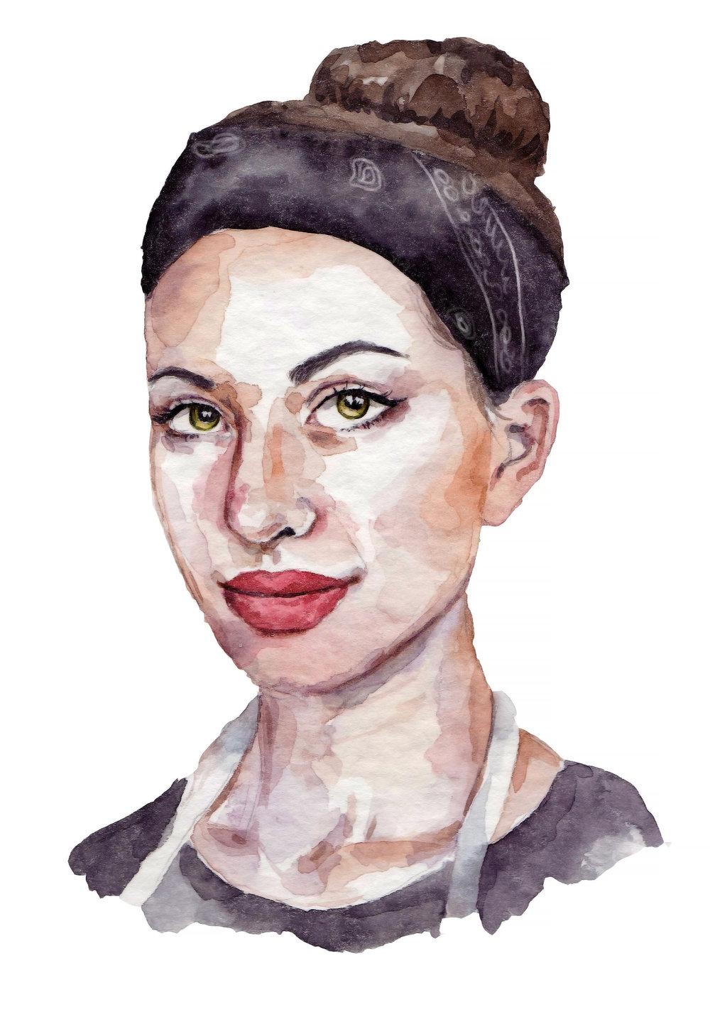 Erica Archambault   By SPECIWOMEN  Illustration  SENDRA UEBELE
