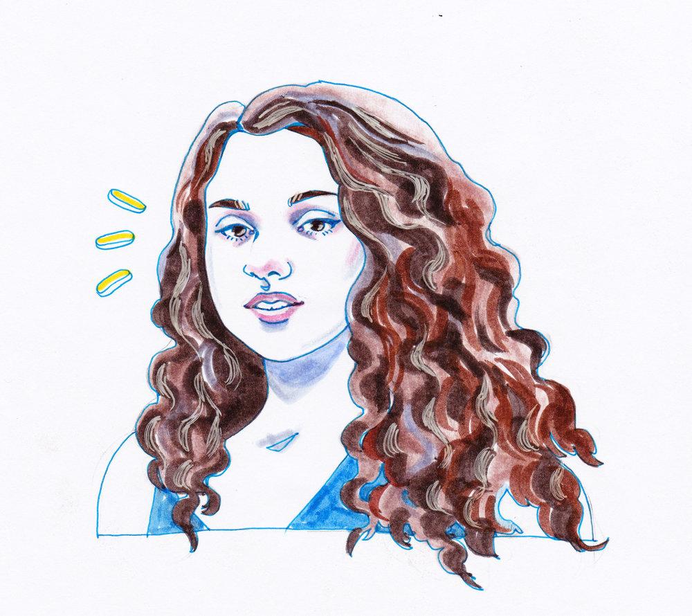 Lucy Panush   By SPECIWOMEN  Illustration  SENDRA UEBELE
