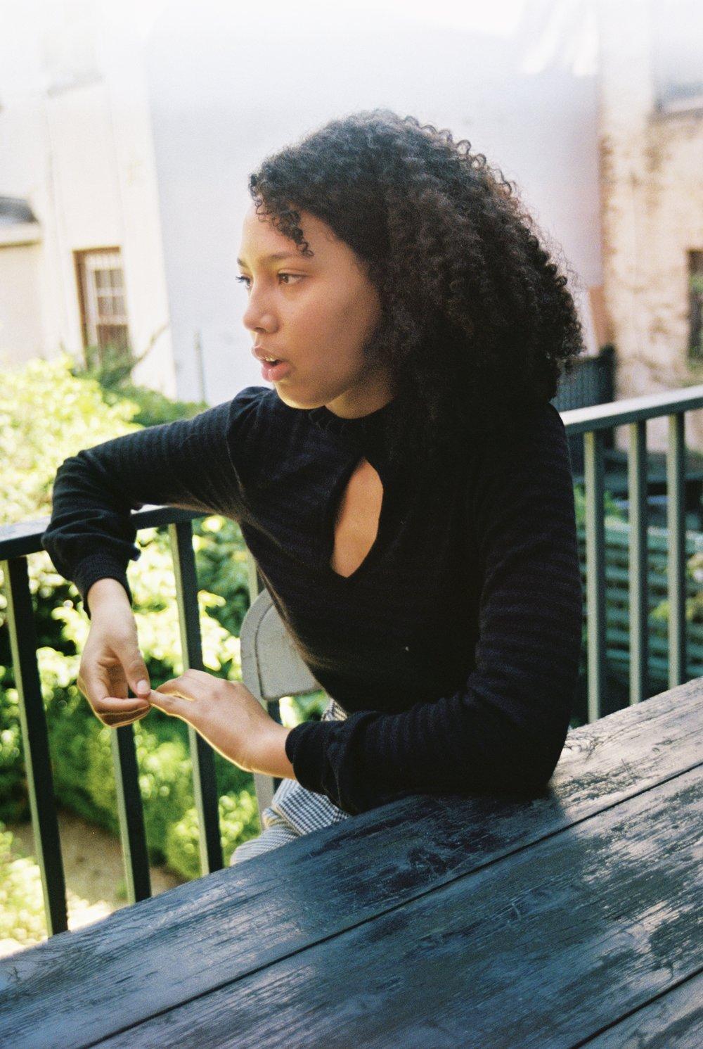 Alyssa captured by Natalie Yang.