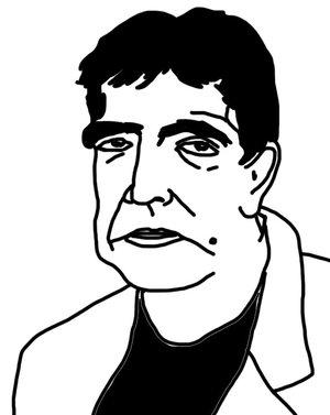 Portrait of Eduardo Lago by Philo Cohen