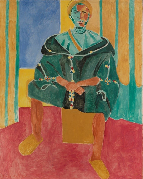 Matise – The seated Riffian (1912)