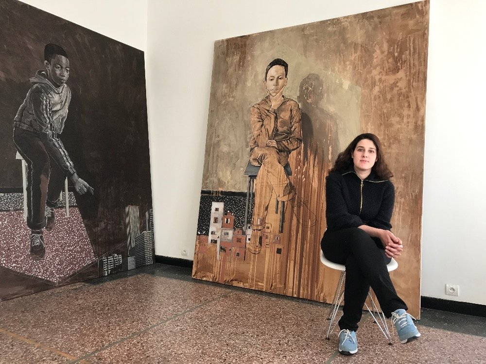 Portrait of Mariam Abouzid Souali  From Tetouan to Duchamp : an artist across the ocean    By  ALEXANDRE COLLIEX