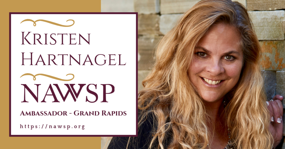 I chose Kristen Hartnagel to be ambassador for the Grand Rapids chapter of NAWSP because …well, she came highly recommended! She is known around the country for her speaking and training. A mutual friend, Elyse Archer from Atlanta, who works with Kristen at Brand Builders Group told me if I wanted a dynamic, compassionate, woman leader, I should consider Kristen! It didn't take long for me to confirm all Elyse said and more. Kristen and I spoke several times as we prepared for the first event and I learned all about what she does to help entrepreneurs learn how to build and monetize their personal brand. Kristen has trained thousands of individuals and companies in the art of sales performance, how to multiply time, the power of introductions and developing super-effective referral partner relationships. Now she and a team are launching their new company Brand Builders Group and she couldn't be more excited about the many ways she is able to serve those committed to being a magnet not a megaphone; helping them learn how to expand their reach to impact the world in ways only they can!    You are truly fortunate to have someone like Kristen at the helm of our ship and I'm proud to stand beside her as we grow together! ONWARD and UPWARD FANTASTIC WOMEN IN SALES!
