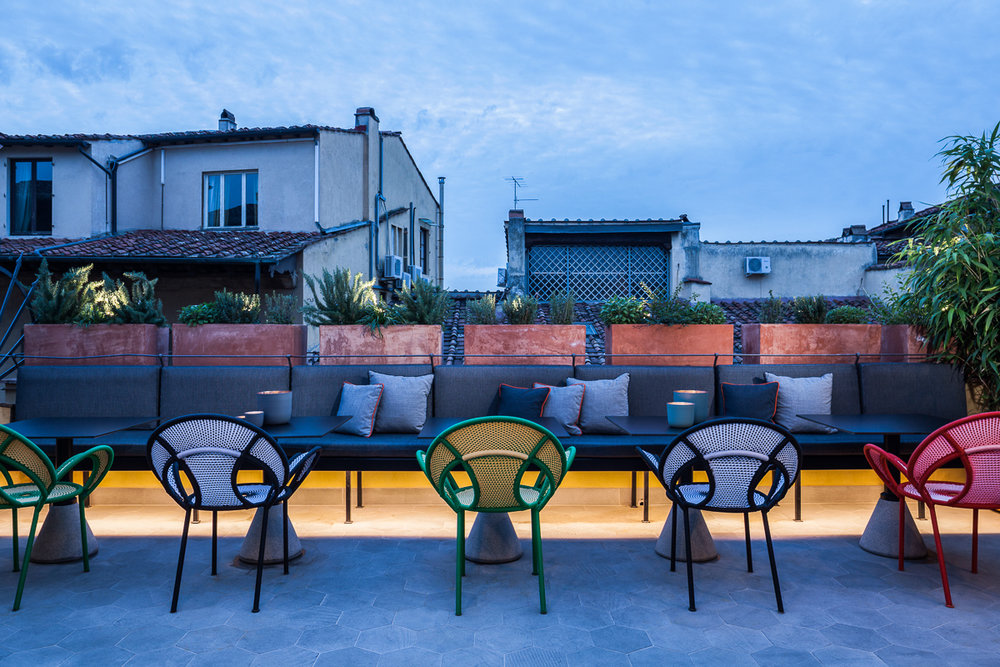 Milu hotel type: hotel location: florence, Italy size: 930 sqm