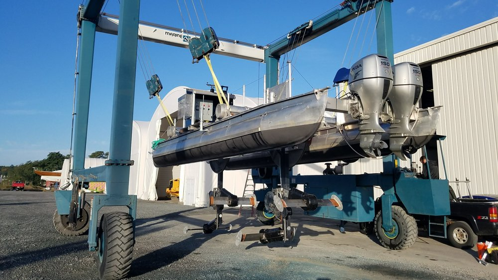Marine Services - From custom part fabrication to full project development