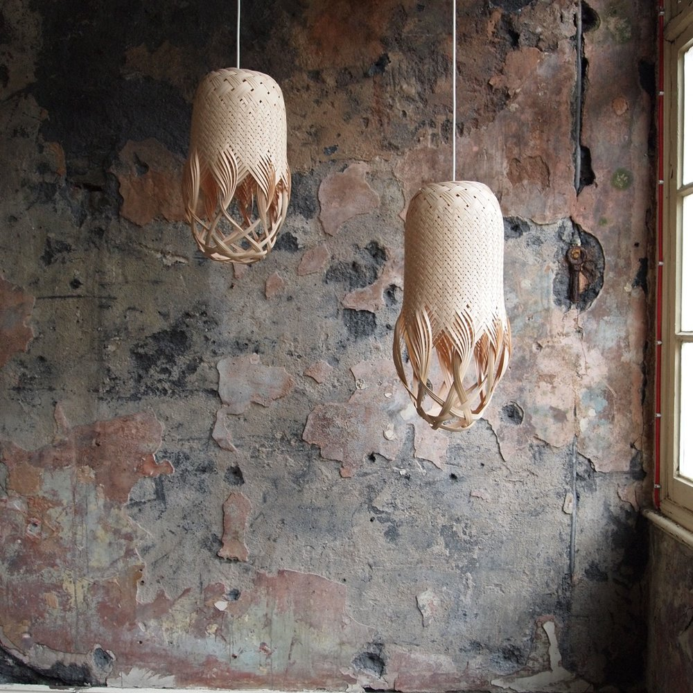 Pren Woven Sculptural Lights