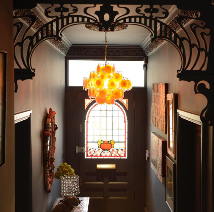 Hallway from  @madcowinteriors  Full House tour  here