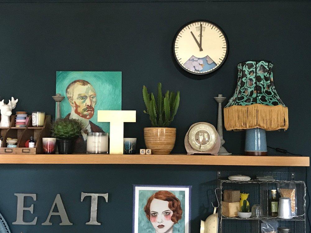 Bramwell Brown Clock in my kitchen