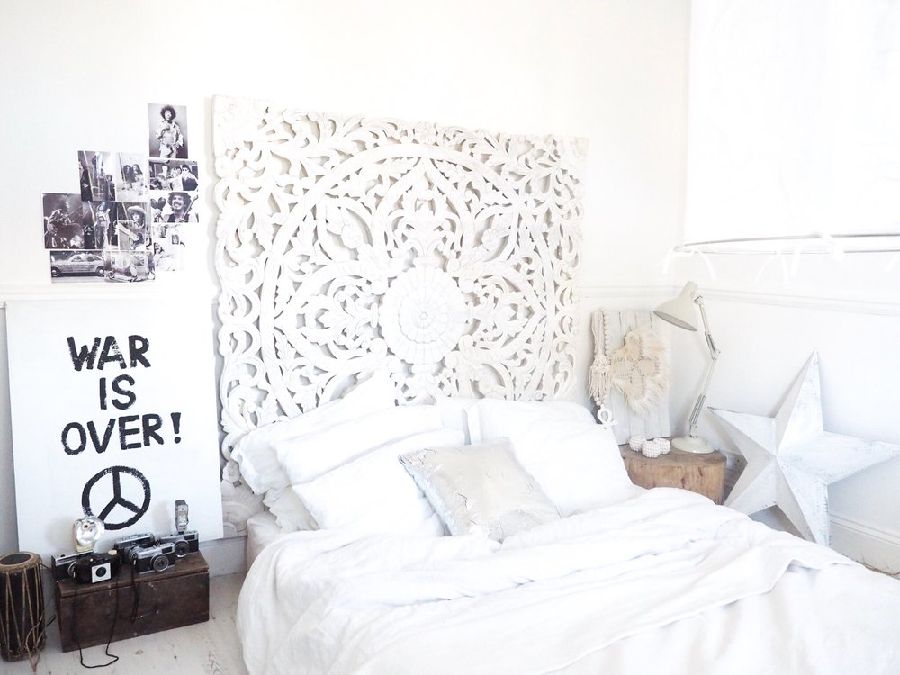 Kate's recently revamped bedroom
