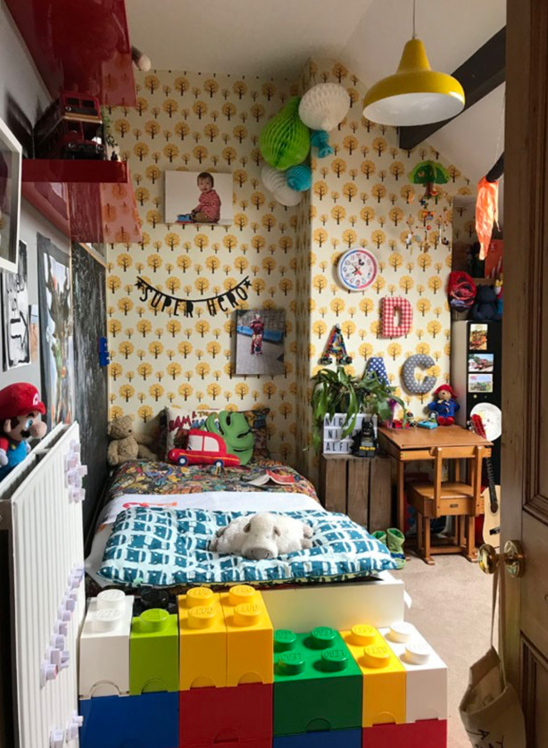 Find Alfie's room on Casavogue -