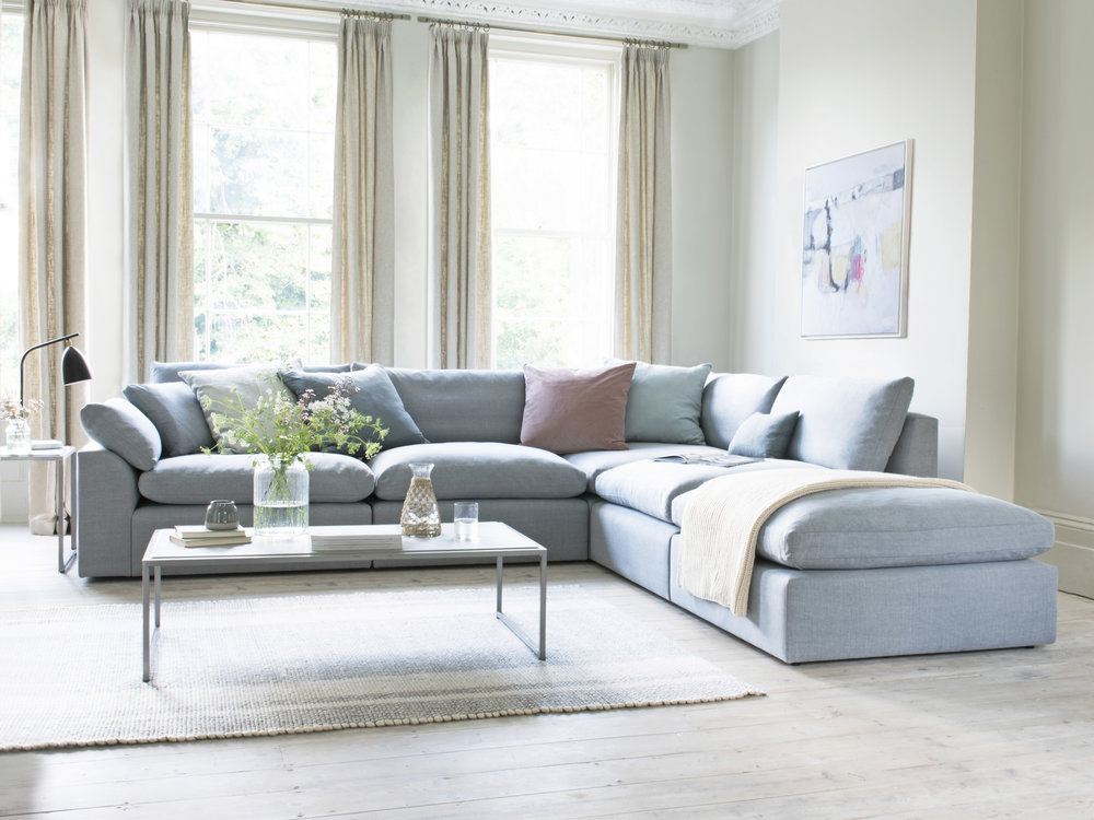 Loaf - NEW Cuddlemuffin modular corner sofa with chaise, from £4645.jpg