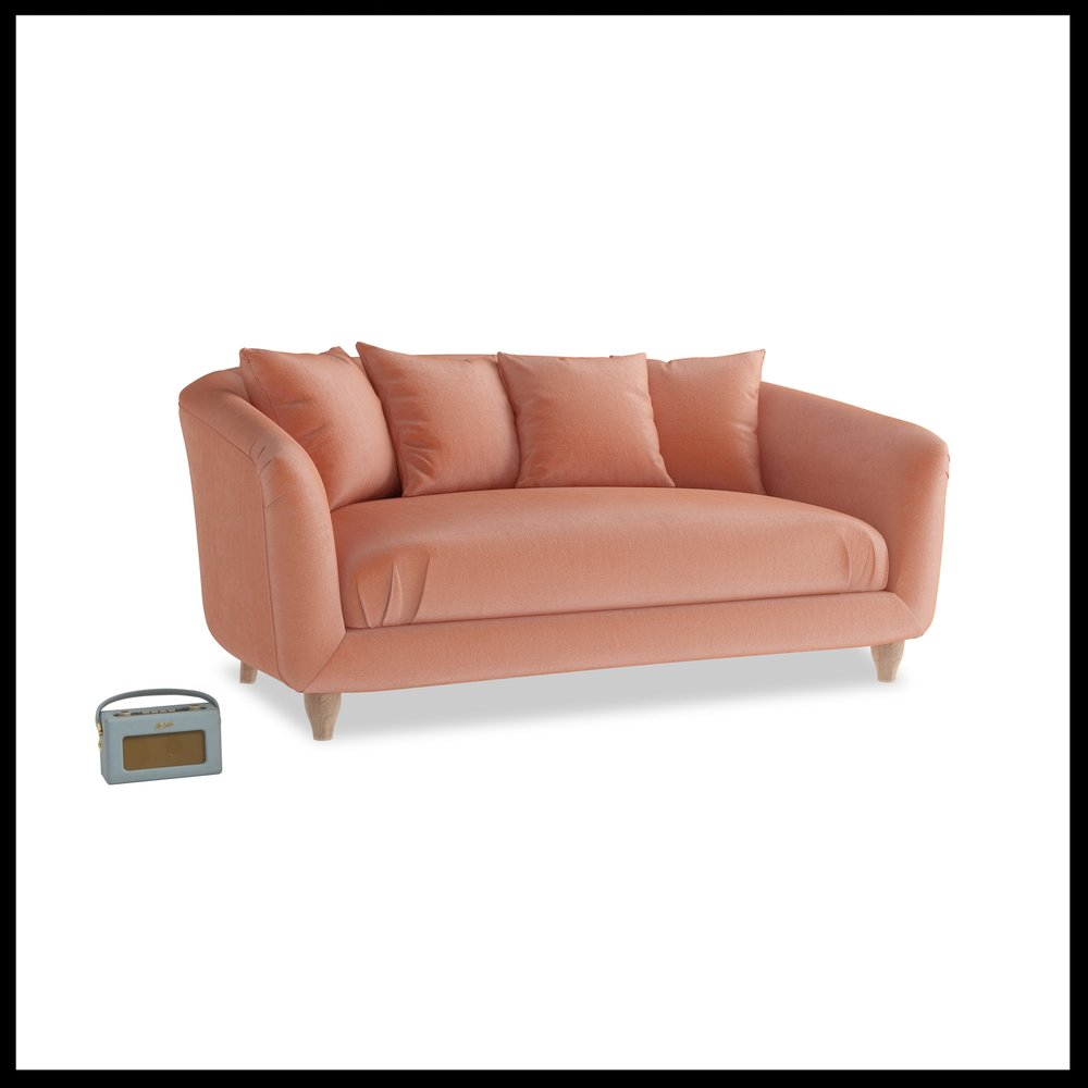 Loaf - NEW Thankster sofa in Old Rose vintage velvet from £1195 high-res.jpg