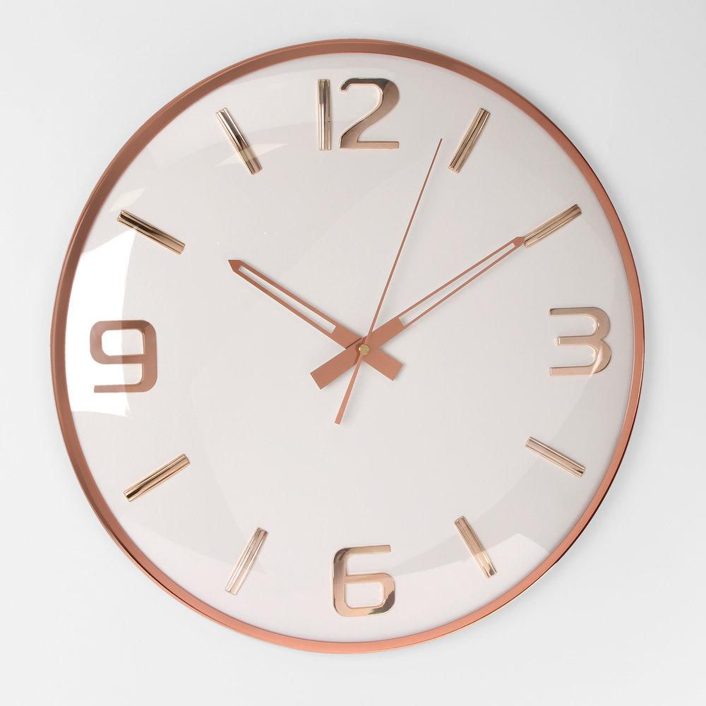 30003835_Large batton wall clock, rose gold.jpg