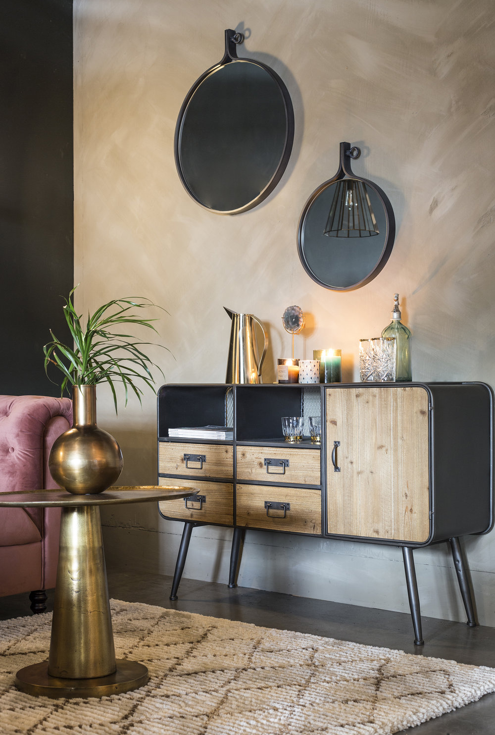Retro Gin High Sideboard