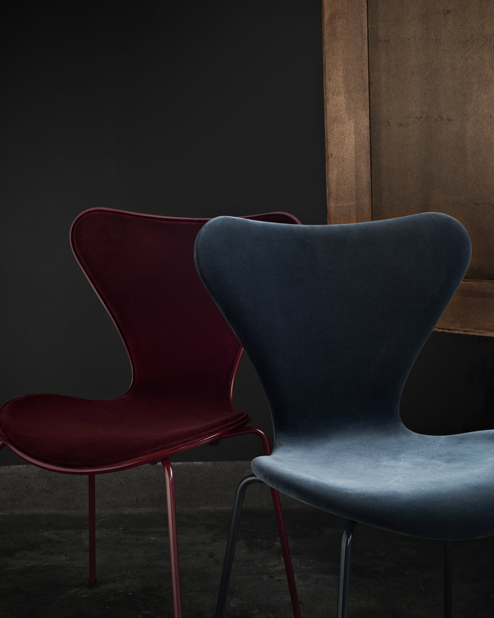 Series 7 Dining Chair - Fully Upholstered Velvet Limited Edition - Chaplins Furniture