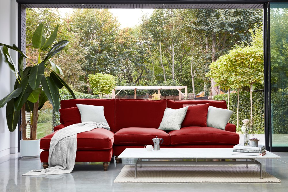 WHINFELL CORNER SOFA - Darlings of Chelsea