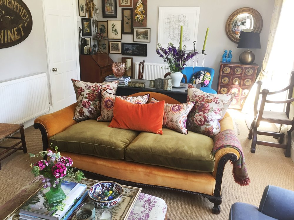 Nicola Broughton The Girl With The Green Sofa Blog Homeangela Bunt