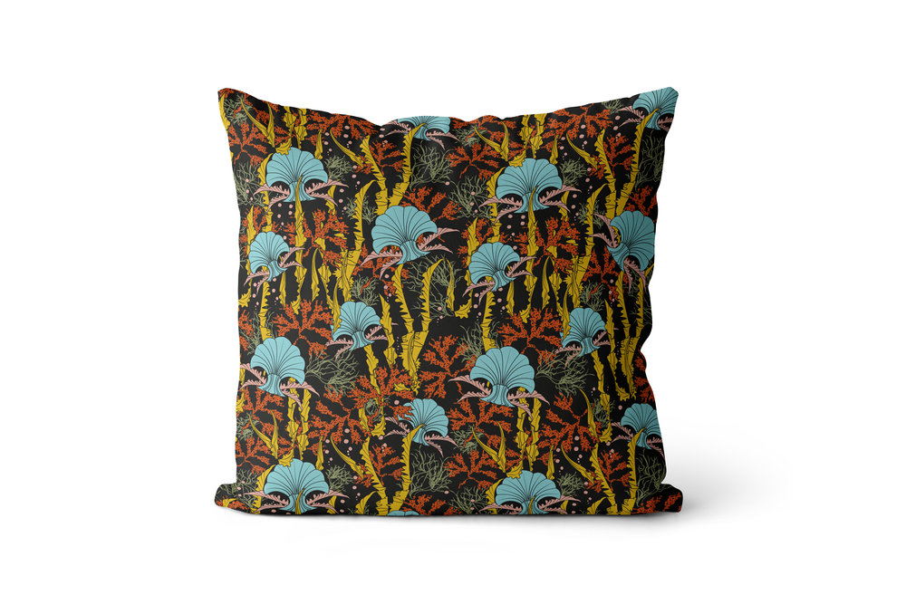 The Curious Department- Black Coral Odyssey Cushion- £100- Shot A copy.jpg