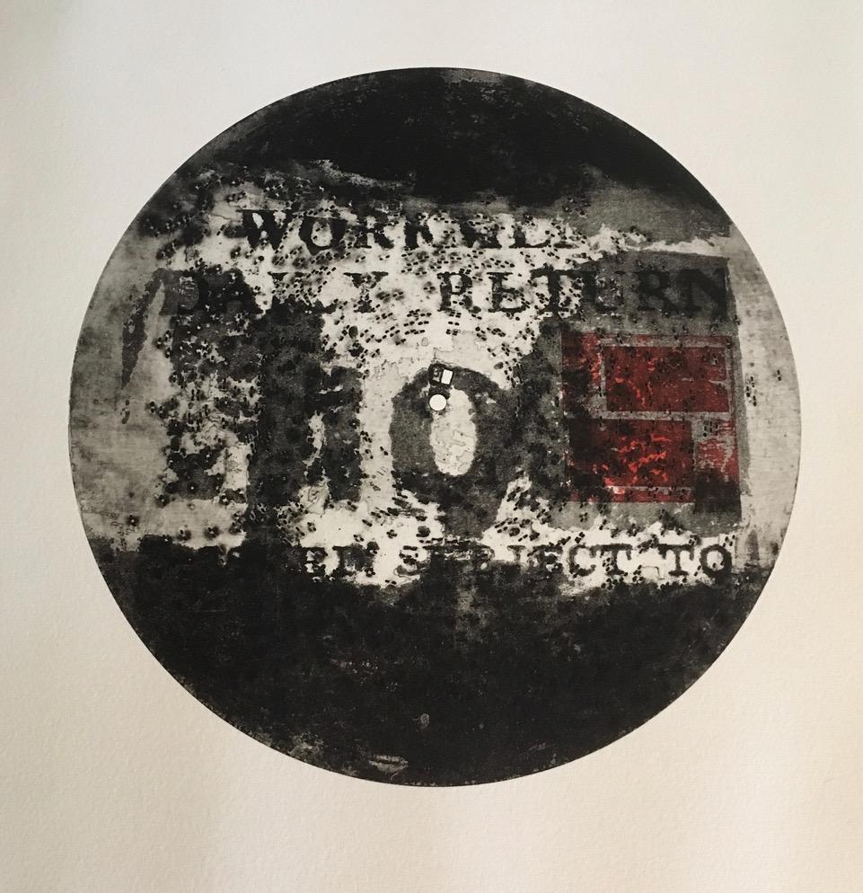 Clare Phelan. York printmaker,( Etching)