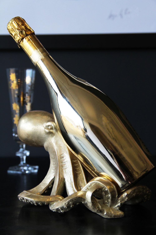 rockettstgeorge_Gold Octopus Wine Bottle Holder_lifestyle_highres.jpg