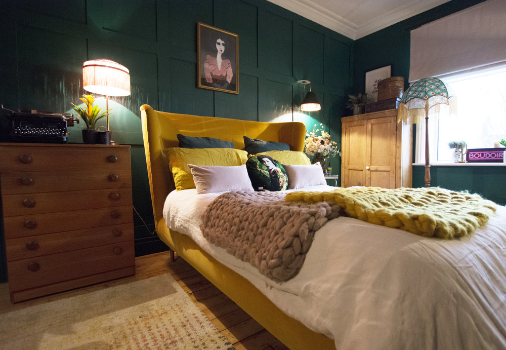 Nicola Broughton The Girl With The Green Sofa Blog Homevelvet The
