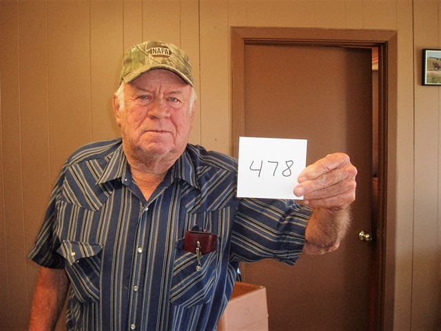 Roger Friesen of Akaska, SD drew the winning number this Monday morning at the Akaska Bait Shop, Bar & Grill. Roger drew the number for Casper Niemann of Lake Norden, SD. Casper wins a Winchester XPR Rifle. CONGRATULATIONS CASPER.
