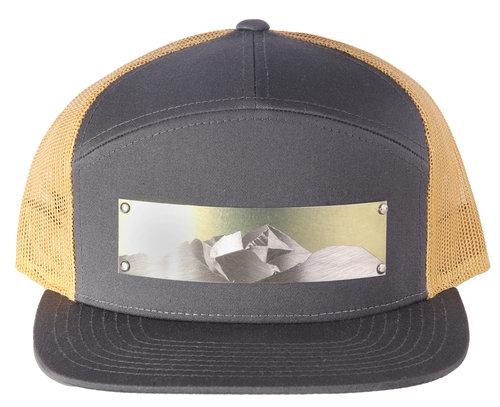 4b698a882ee 7-Panel Diamond Engraved Hat
