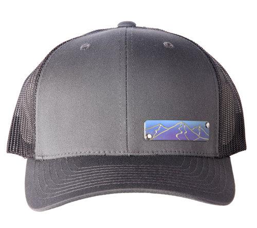 823f70eb4c2 Small Titanium Plaque Mountain Hat - click for more designs