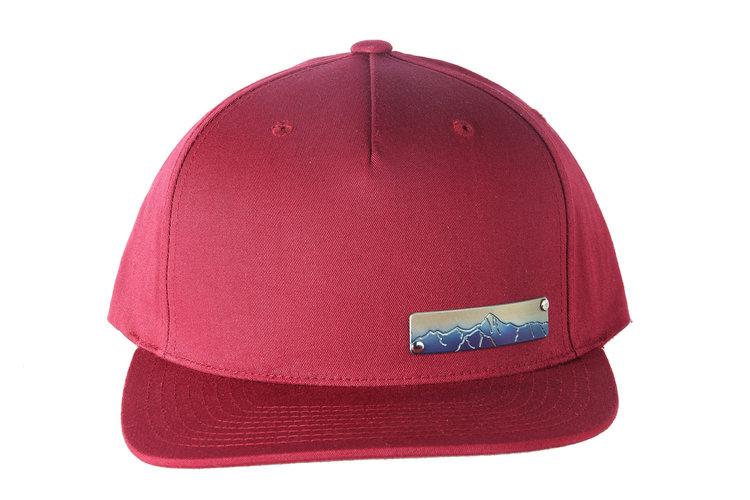 e1d532e971f Flat Brim Titanium Plaque Mountain Hat