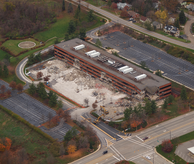 CONSOL ENERGY HEADQUARTERS BUILDING DEMOLITION
