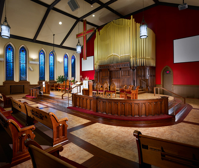 SEWICKLEY UNITED METHODIST CHURCH SANCTUARY RENOVATION