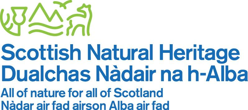 "Scottish Natural Heritage , Europe:   A public body whose vision is to see people value Scotland's natural assets because they generate benefits for all, sustaining us and improving our economy, health, lifestyles and culture.  It is working to build a more ""environmental citizenship"" approach which encourages, supports and empowers communities, businesses and other organisations to work with nature."