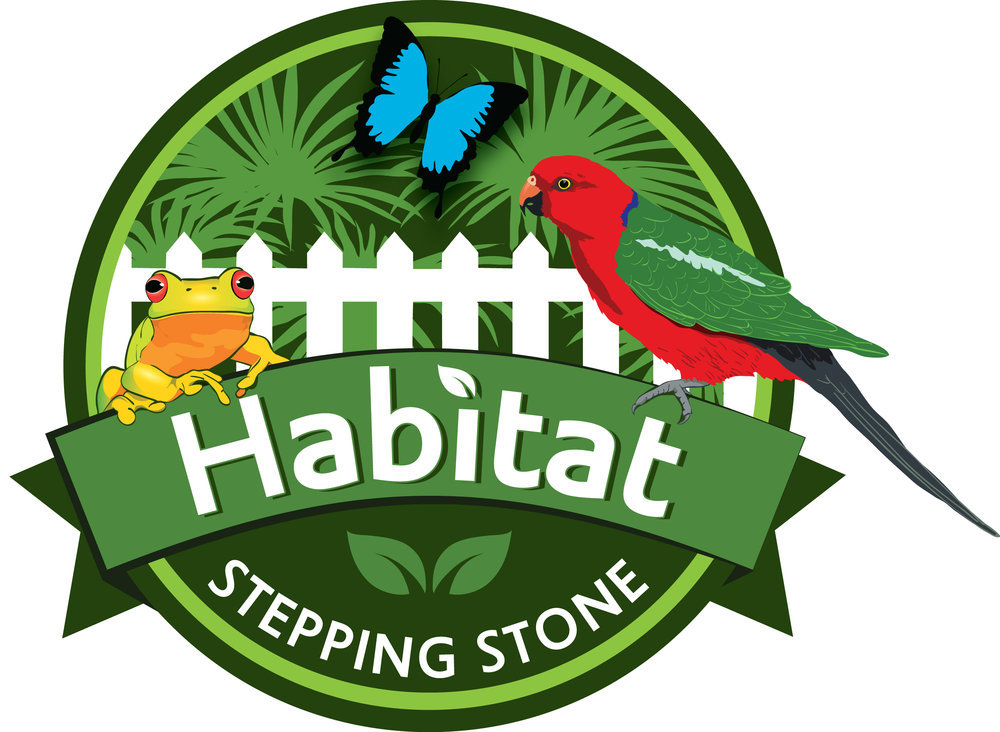 Habitat Stepping Stones:   Making it easy to find beautiful food, water and shelter elements to add to a backyard or balcony to create a habitat stepping stone for local wildlife.