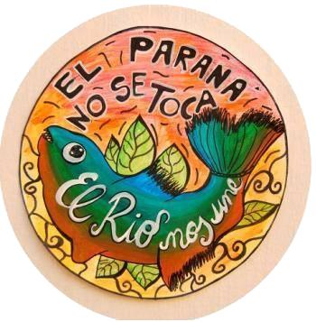 El Parana No Se Toco - El Rio Nos Une, South America
