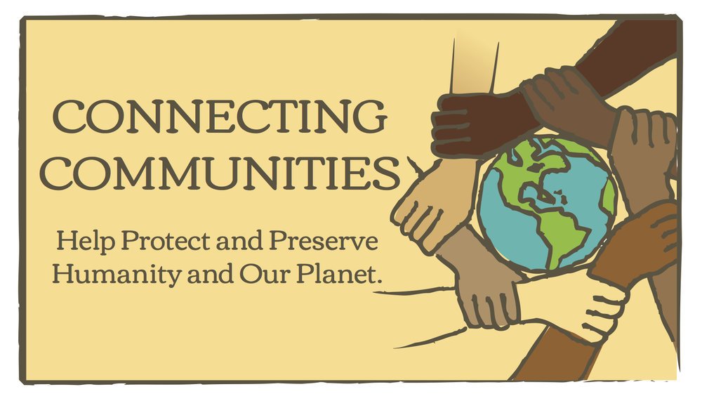 Connecting Communities Association , North America:  Dedicated to increasing awareness about the importance of sustainable development. A significant component of their work involves connecting people with their local natural environment so that they may gain an appreciation and respect for the ecosystems that they depend on for survival.