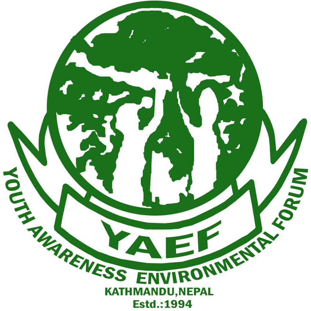 Youth Awareness Environmental Forum  (YAEF), Nepal, Asia:  A community based non-profit media membership organization.