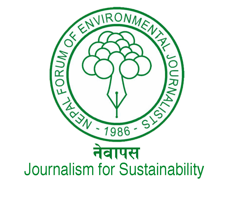Nepal Forum of Environmental Journalists , Asia:   A member based, non-profit, non-governmental organization dedicated to promoting and popularizing development and environment related issues in Nepal.