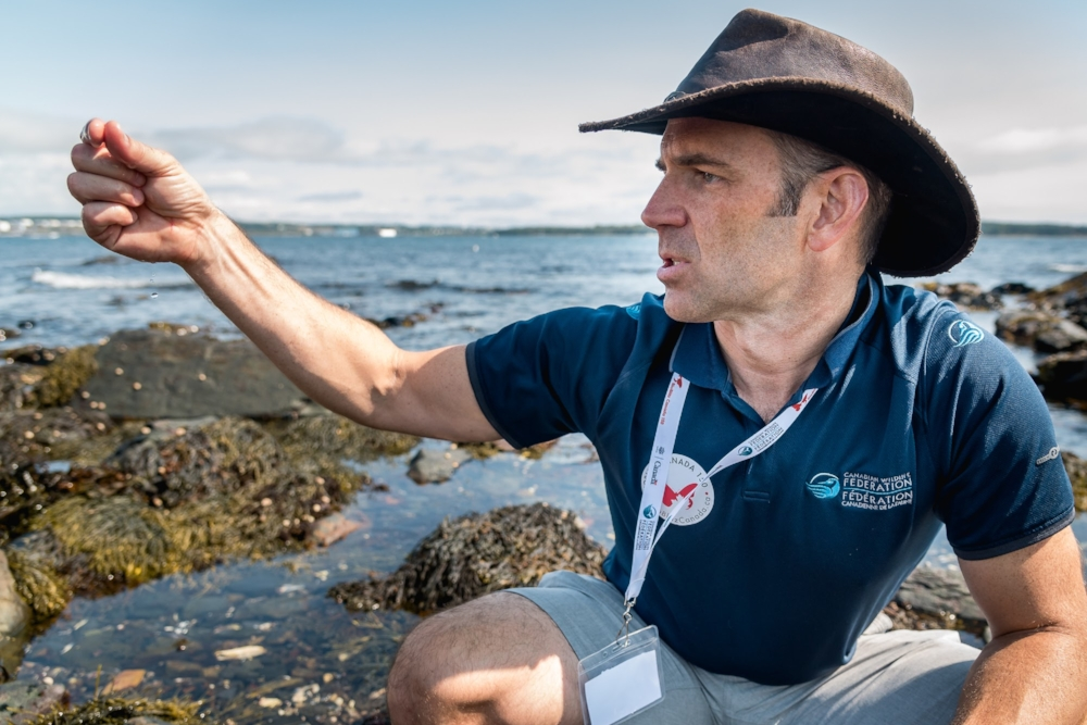 BBC 150 Haliblitz  CREDIT DaveCoulson  PERSON IN PIC CWF's Marine Biologist Sean Brillant.jpg
