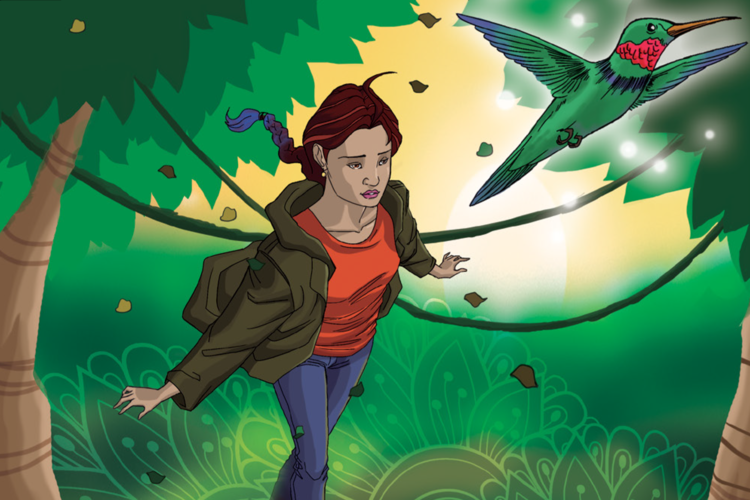 Connecting to Nature Comics - Read them  here