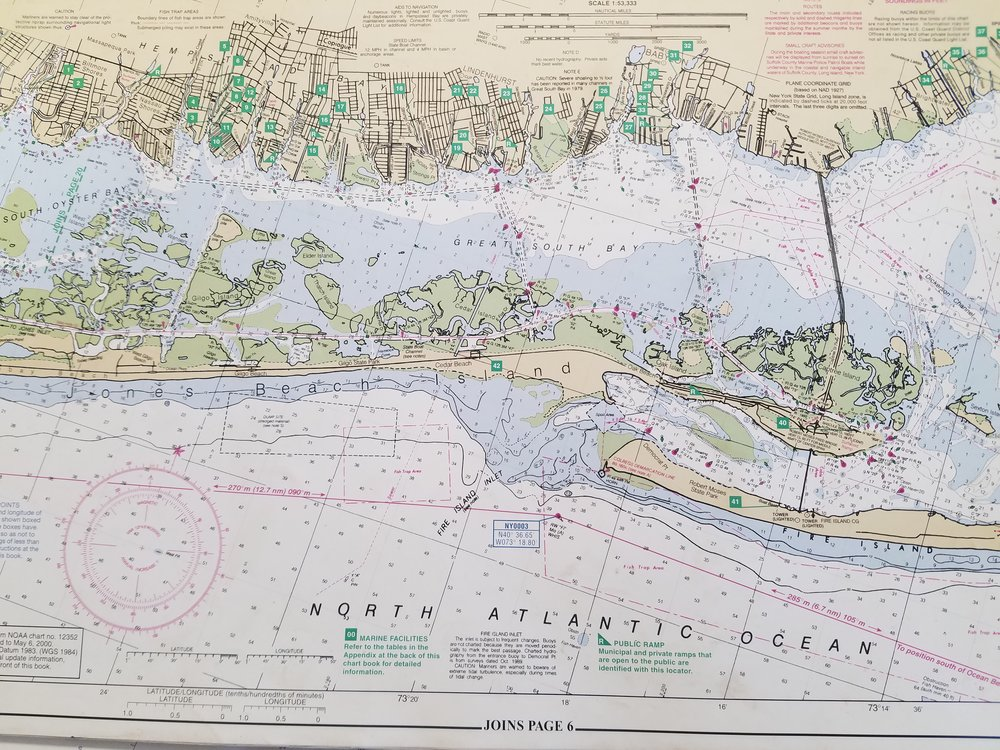 Great South Bay Map