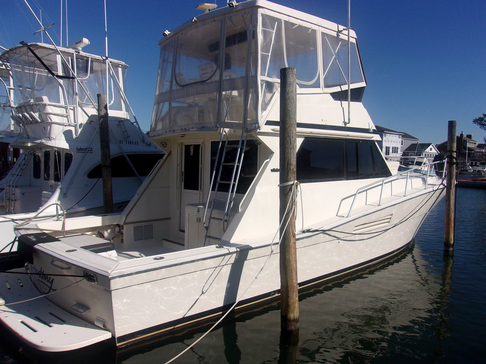 1989 Viking Conv. Sport Fisher  $105,000