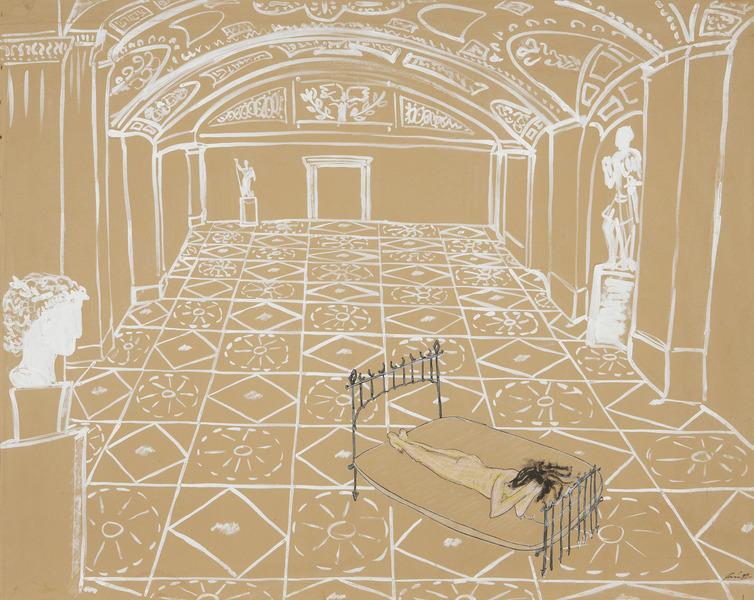 Rocco García, Sin Título, de la serie Museos (Untitled, from the series Museums), 1989.