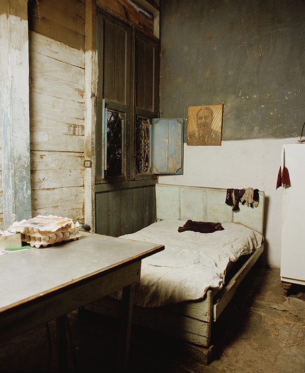 Cuba (Bedroom with Fidel), 2012. Digital C-print, 60 x 50 in. Ed. 3/3.