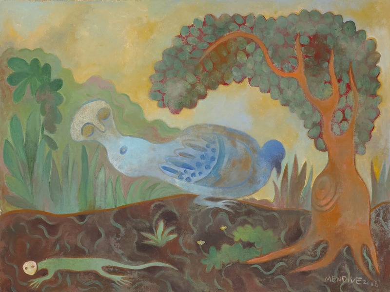 Untitled, 2009. Oil on board. 23 1/2 x 31 in.