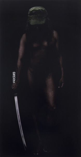Samurai, 2009. Digital Inkjet print. 59 1/4 x 30 7/8 in.