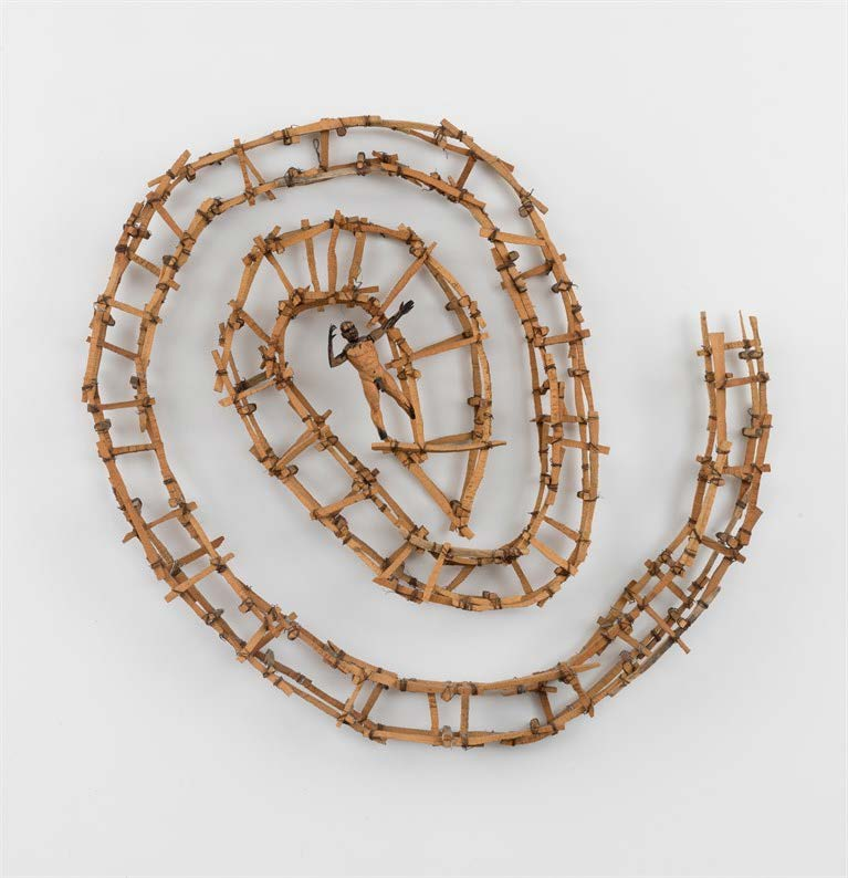 Untitled, 1999. Wood, metal and wire. Object: 45 x 45 1/2 x 6 in.