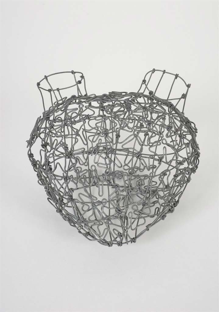 De la serie Espacio abierto (From the series Open Space), 2011. Wire. Object: 7 1/4 x 6 1/4 x 4 in.