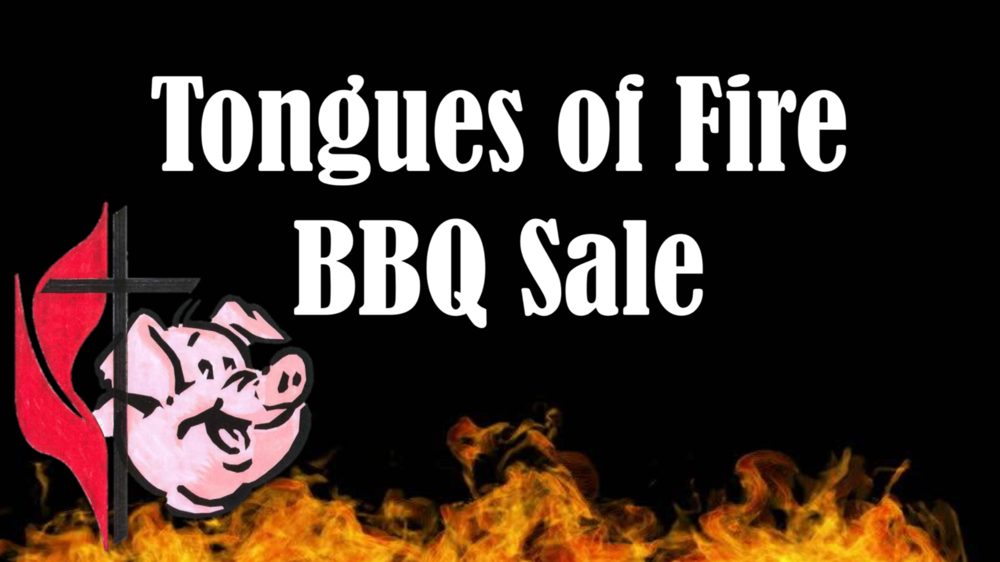 "Our very own DUMC Tongues of Fire BBQ will be on site for the festival. They will be featuring  pulled pork & pulled chicken, pit beef and pit chicken. The teams mission is to ""Share the Gospel one Bite at a Time!"""