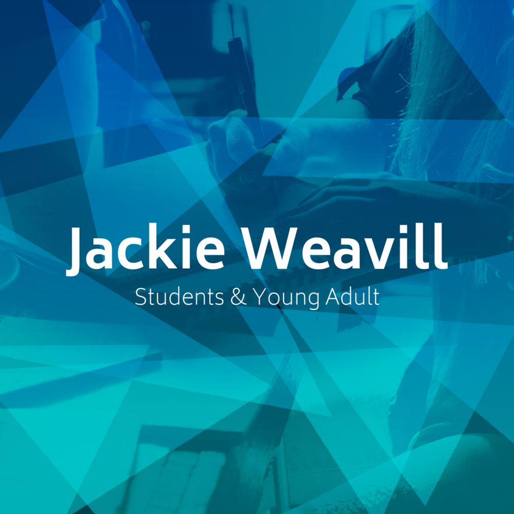 Students & Young Adults - Jackie will be leading a small group designed for students and young adults. This group will meet at a local coffee shop at a time TBD.
